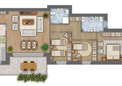 Appartamento 8 e 12