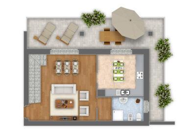 Appartamento 5:1